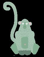Monkey_sitting